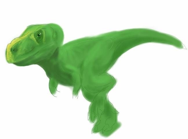 iPad T-Rex