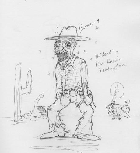 cowboy zombie