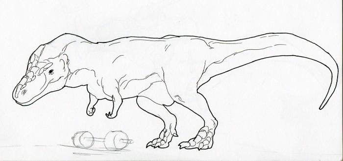 Inevitable Tyrannosaurus