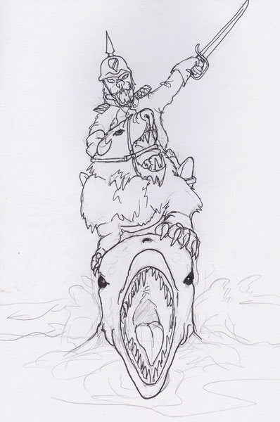 Bear Cavalry gone amphibious