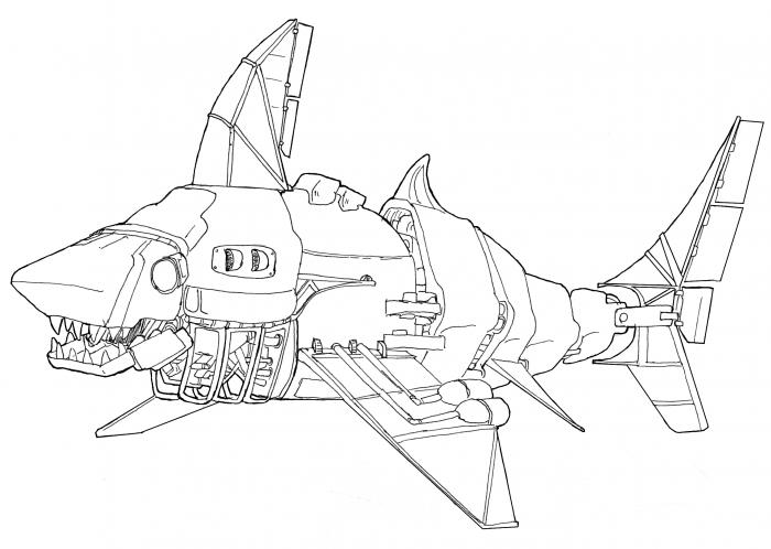 Yet another mechanical shark
